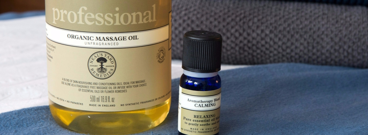 Massage oil used in massage treatments