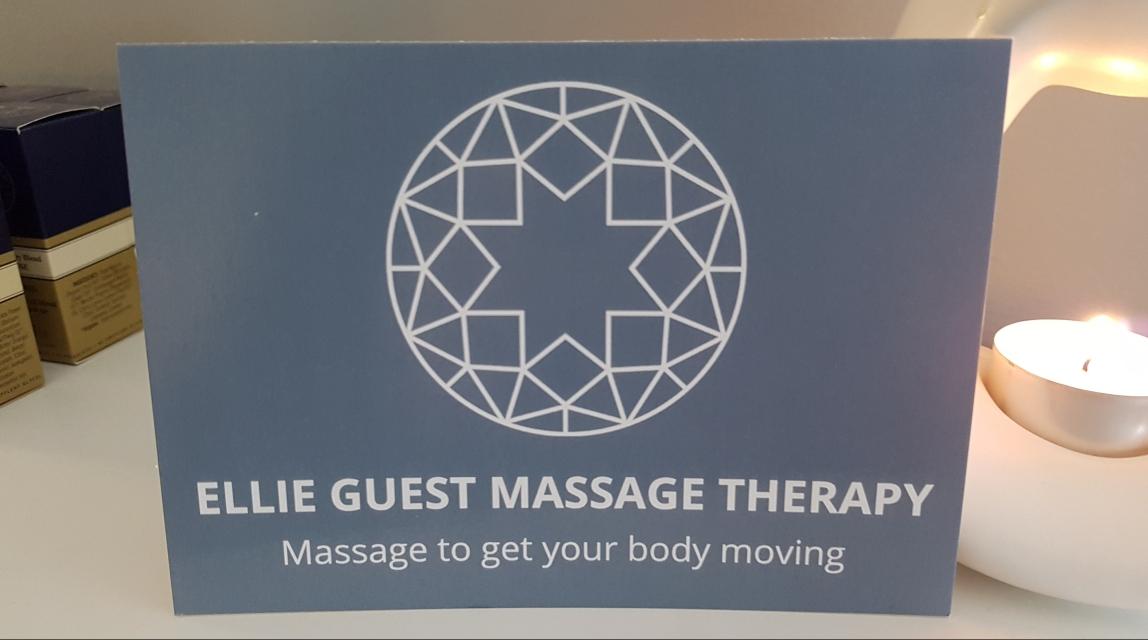 Image of massage gift card